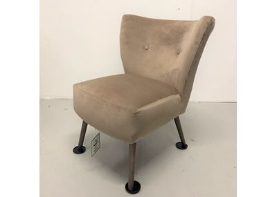 Chloe Chair Smoke Leg - Brussels Sahara